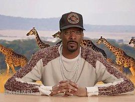 Snoop Dogg narrates planet earth scene