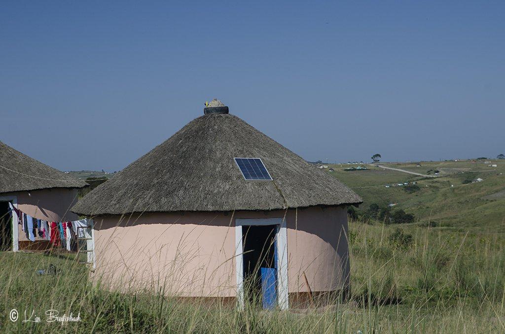A Solar powered rondawel