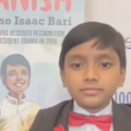 WATCH: The youngest professor in the world is 9-year-old little boy who says playing is necessary to recreate