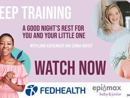 Elana - training your child to sleep video