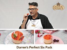 darren with strawberry cheese cake