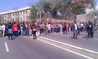 Student Protest Wits