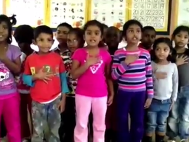 KZN kids sing the national anthem
