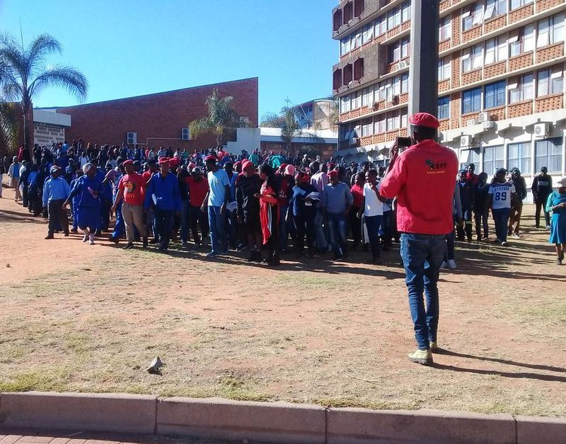 EEF Limpopo Protests