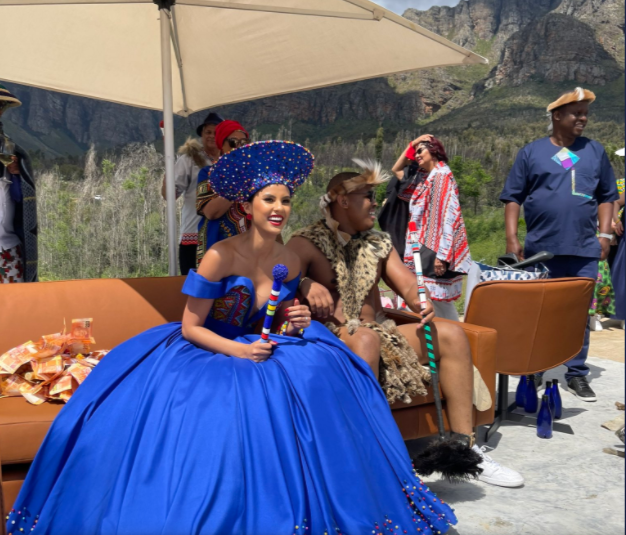 Tamaryn Green's traditional wedding