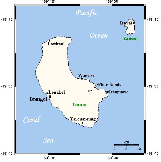 Tanna Map