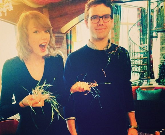 Taylor and her brotyher