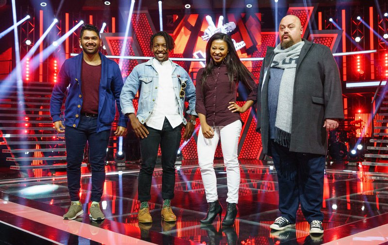 The Voice SA Team Kahn ready for the live shows