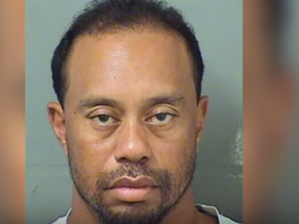 Tiger Wood Mugshot