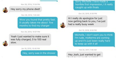 Michelle tinder josh 'Tinder Couple'