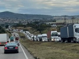 Ashburton Traffic jam