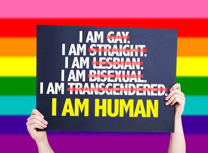 I am human - transgender