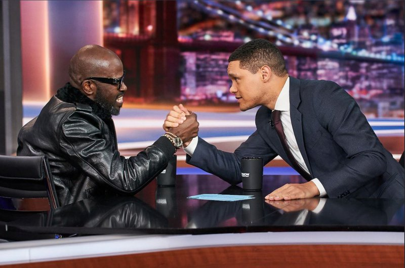 Black Coffee takes a seat on The Daily Show with Trevor Noah
