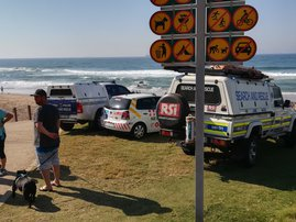Tourist presumed drowned at Umhlanga Rock beach