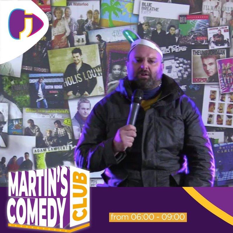 Radio raps comedy club
