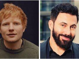 Ed Sheeran and martin bester
