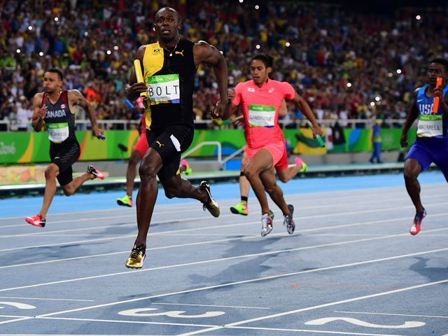 Nervous Bolt wins final 100 metres race on home soil