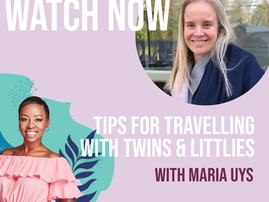 Baby Brunch Video Travelling with Twins