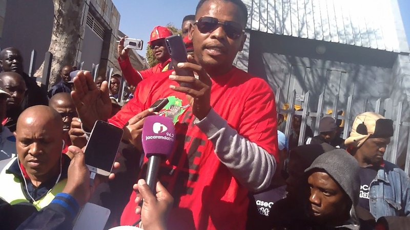 EFF strikes at Vodacom