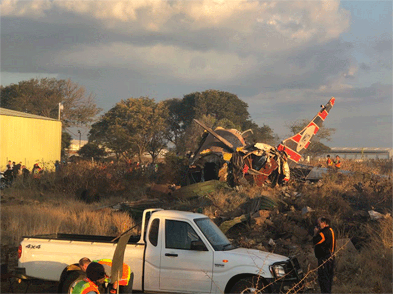 Second fatality confirmed after Pretoria plane crash