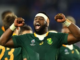 Siya Kolisi Springboks AFP