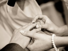 Wedding image couple married kfc