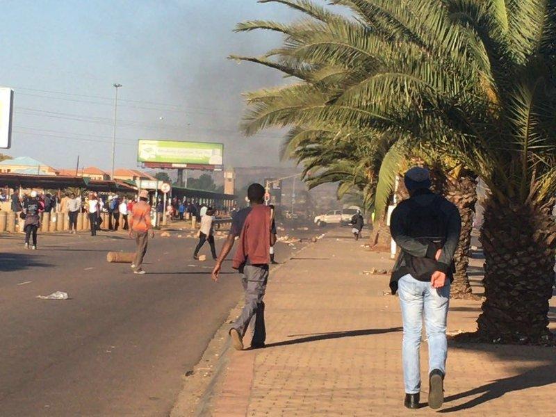 Tshwane unrest Mamelodi