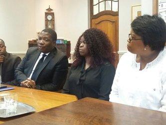 Panyaza Lesufi at Pretoria Girls High