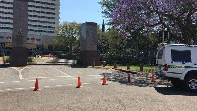 University of Pretoria classes suspended