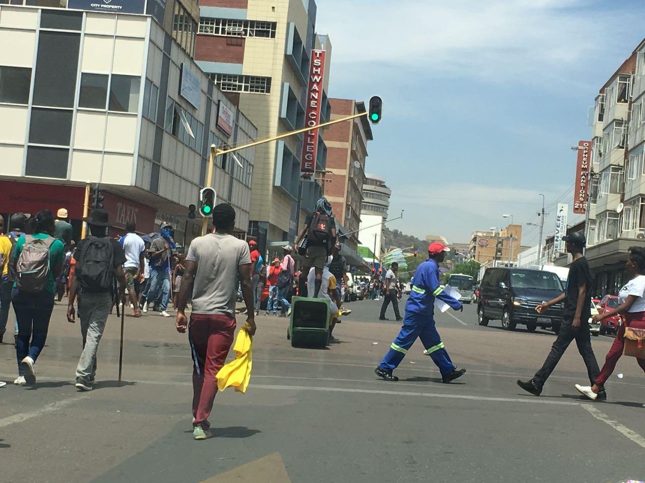 TUT students in Pretoria 5