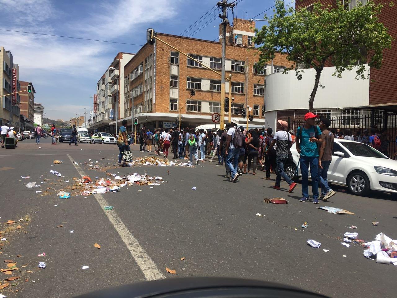TUT students in Pretoria 4