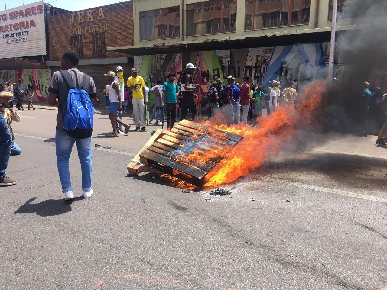 TUT students in Pretoria 2