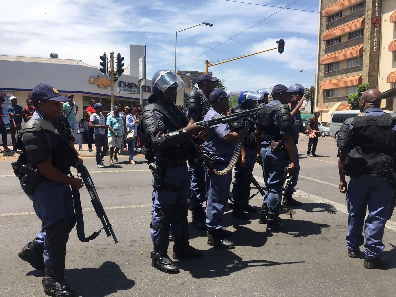 TUT students in Pretoria 1