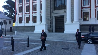 Pravin Gordhan at Parliament