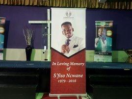 Sfiso Ncwane memorial