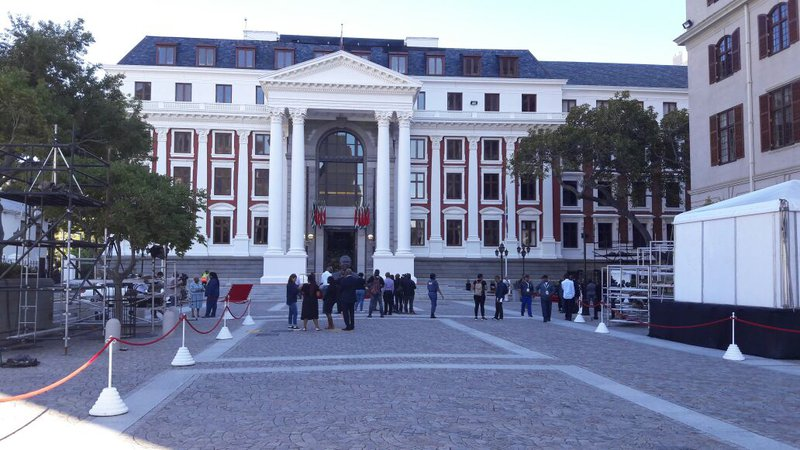 Parliament ahead of SONA
