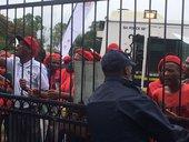 EFF protest Gauteng SOPA