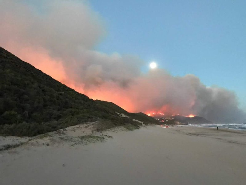 Knysna Fire Map.Battle To Bring Knysna Fires Under Control Continues