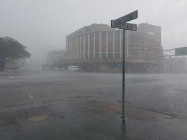 Storm hits Durban CBD