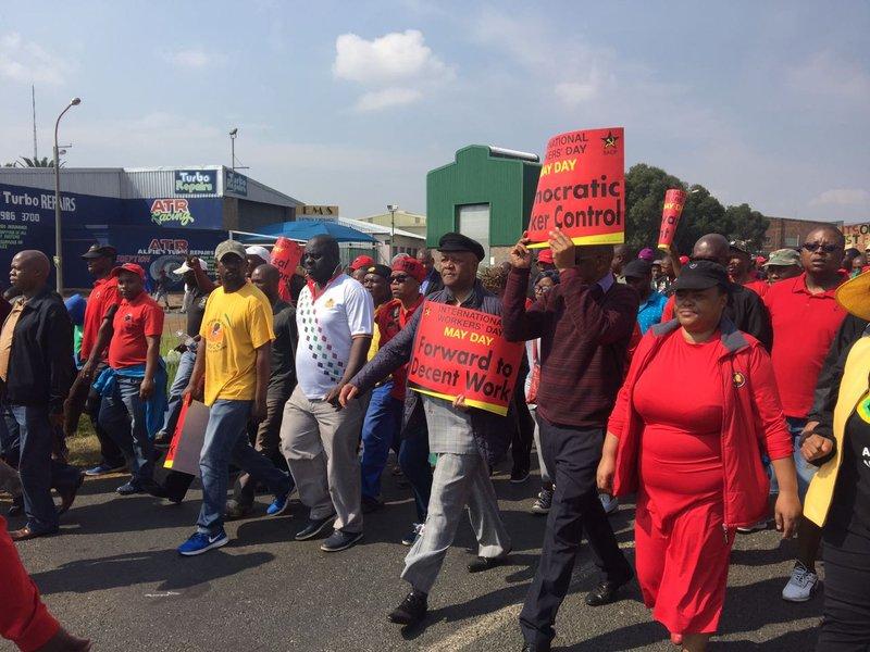 May Day Cosatu March
