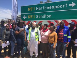 R511 between Gauteng and NW reopened