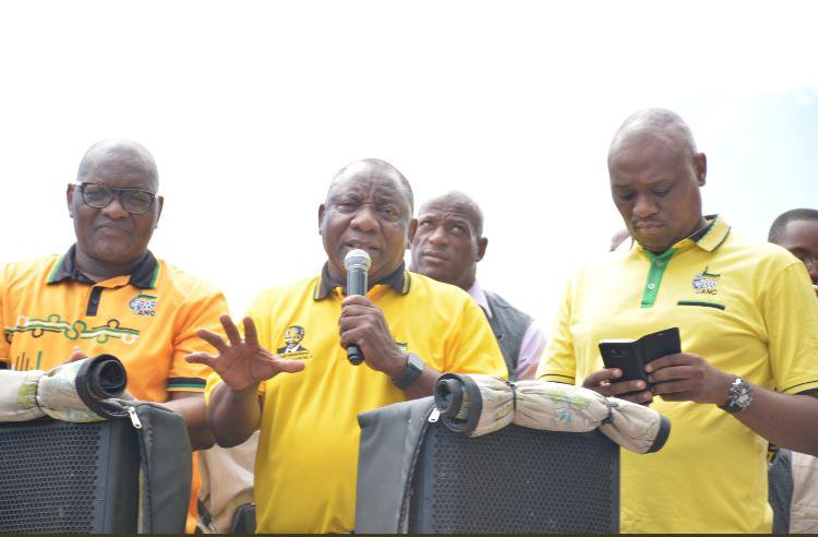 Three-hour train delay for Ramaphosa during ANC election campaigning
