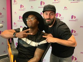 Lloyd Cele performs 'Dancing With A Stranger' on Friday Live