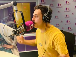 Comedian Schalk Bezuidenhout joins Martin Bester for April Fools Day
