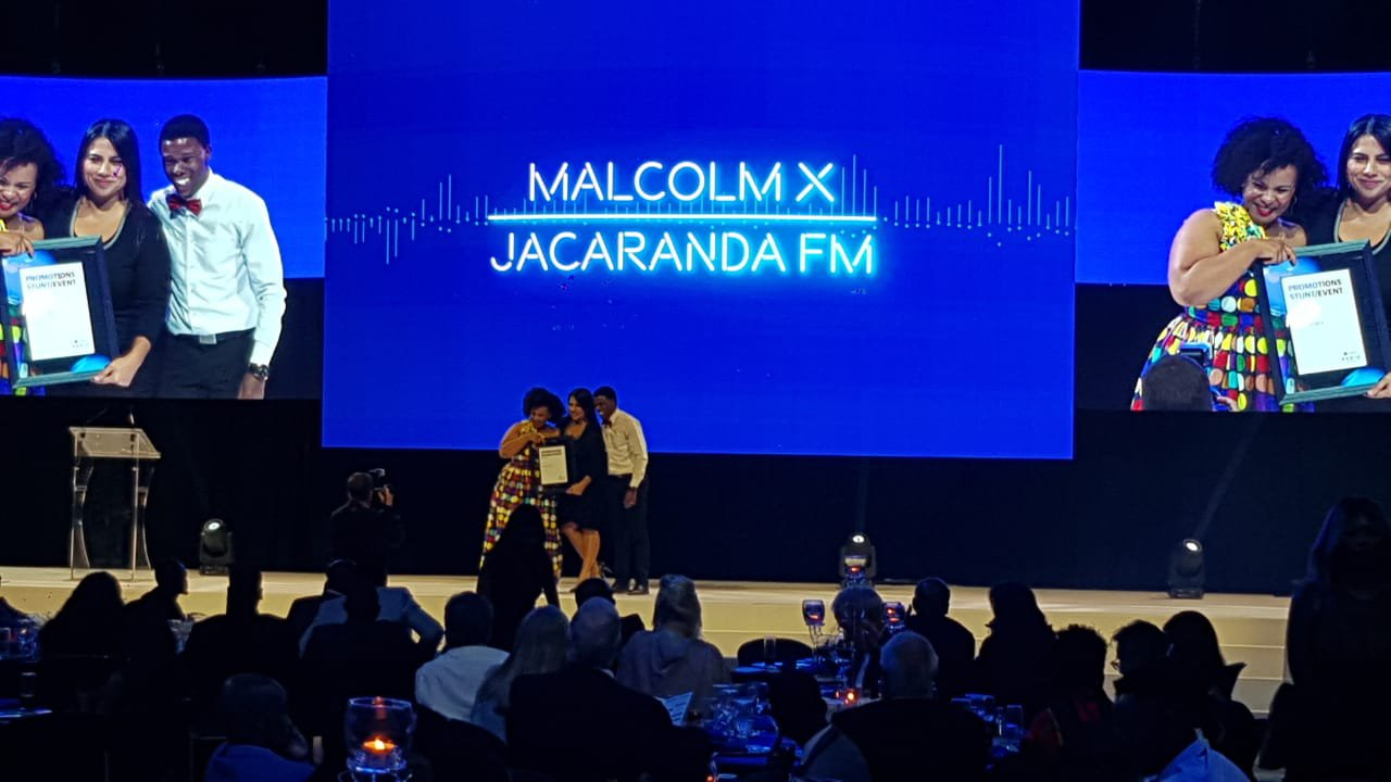 Jacaranda FM wins three majors at Liberty Radio Awards 2019