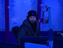 The Jacaranda FM studio transformed into Game of Thrones wonderland