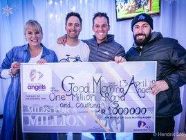 The #MilesForAMillion team have raised more than a million!