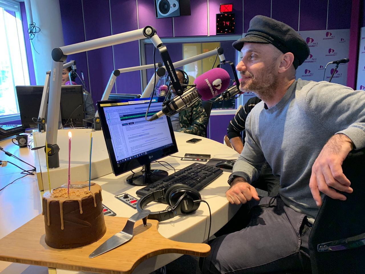 Martin Bester celebrates Khan's birthday!