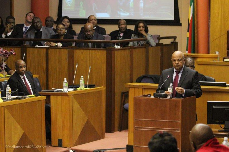 Pravin Gordhan on Budget vote