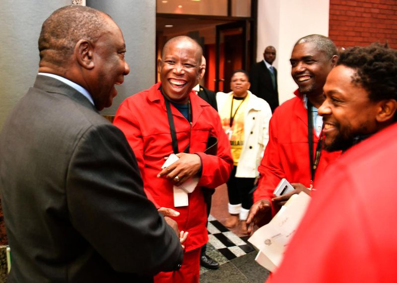 EFF urges Ramaphosa to take leave of absence